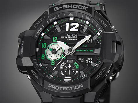 Gshock Aviator Gwa 1100 1a3 G Resist ga 1100 1a3 products g shock casio