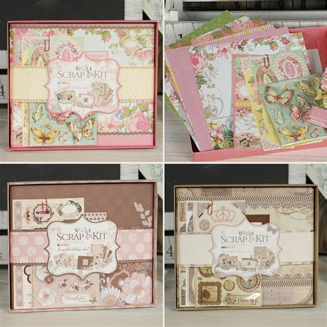 Scrapbook Diy Kit Retro Aliexpress Buy Vintage Photo Album Kit Diy Scrapbook