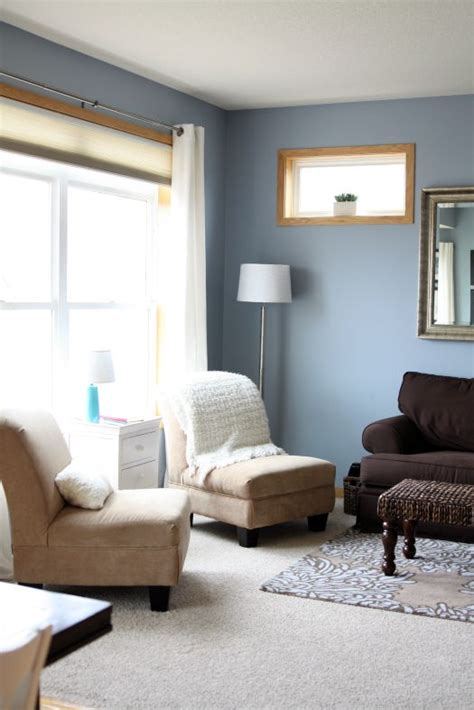 beckys beautiful diningliving room makeover blue