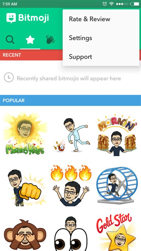 how to get the on snapchat how to use bitmoji deluxe on snapchat social media apps updates and stories