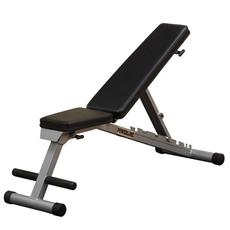 workout bench adjustable powerline pfid125x folding bench review