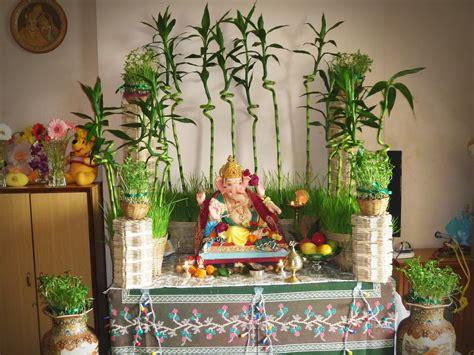 ganesh chaturthi decoration ideas  home