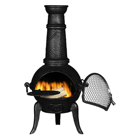 chiminea at a beautiful cast iron chiminea a beautiful space