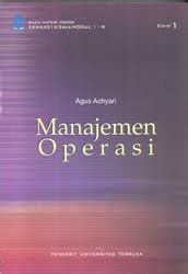 Buku Manajemen Operasi Edisi 11 Aw 1 ikatan alumni universitas terbuka jakarta ekma4215 manajemen operasi