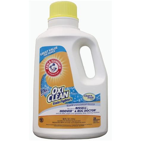 oxiclean upholstery cleaning arm hammer oxiclean carpet cleaner 64 oz walmart com
