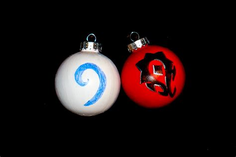 world of warcraft christmas ornaments by mordsithcara on