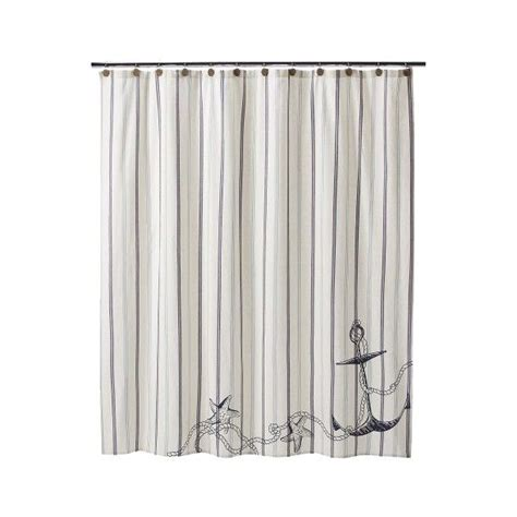 Anchor Shower Curtain Target by Target Home Coastal Shower Curtain Nautical Bathroom