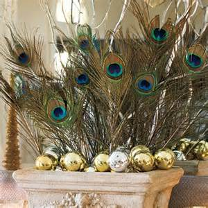 Decorating Ideas Using Peacock Feathers Do It Yourself Wedding Reception Centerpieces St Simons