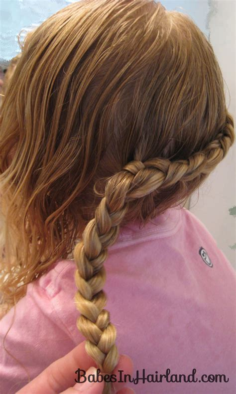 plait at back of head hairstyle one braid down back of head pictures hairstyle gallery