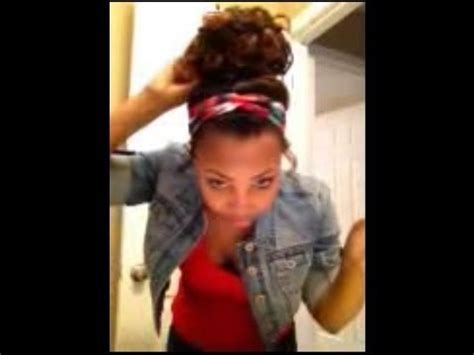 how to: curly high bun w/ weave! youtube