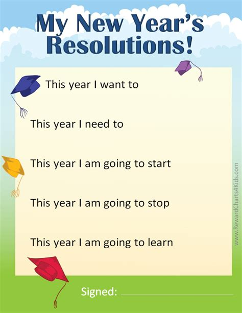 new year for schools new year s resolutions for