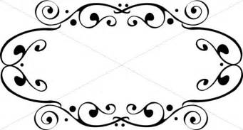 fancy oval frame religious borders