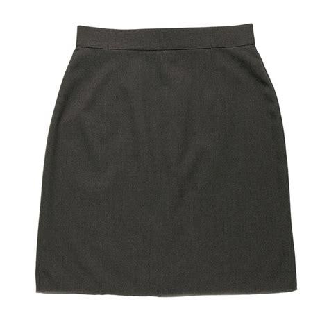 plain knee length school skirt school 247