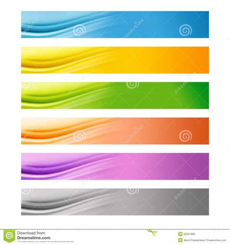 colorful websites 6 colorful web banners royalty free stock photos image