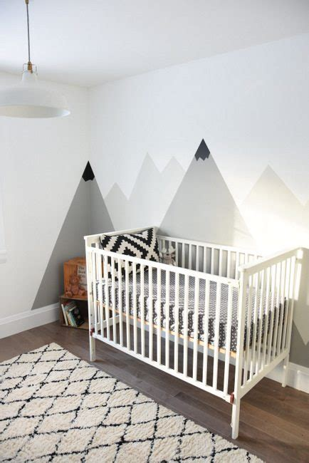 decoration painting how to paint a diy mountain mural no skills required