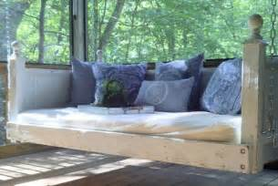 shabby chic day bed porch swing by customrustics1 on etsy