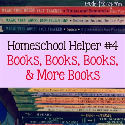 overnight magic 4 books homeschool helpers our favorite day to day resources