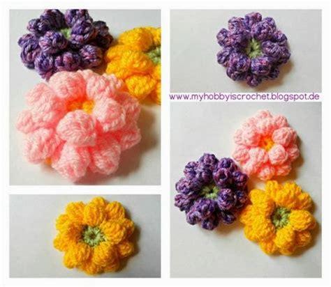Rajut Bayi Crochet Custom Foto Blue 15 inspirasi rajut bunga crochet dan pola gratis she nisa