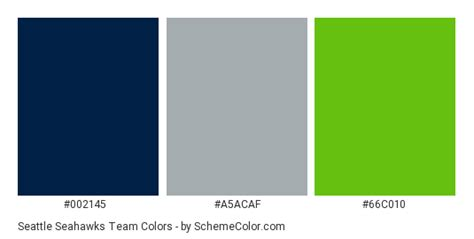 seahawks color seattle seahawks team color scheme 187 brand and logo