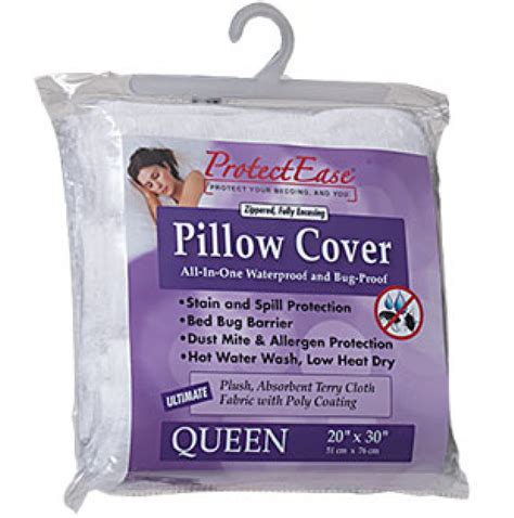 bedbug bed bug pillow protector travel pillow w bed bug pillow encasements protect ease pillow encasements