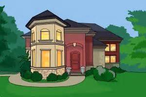 draw your dream house how to draw a dream house drawingnow