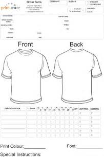 blank t shirt order form template template order form for t shirts new calendar template site
