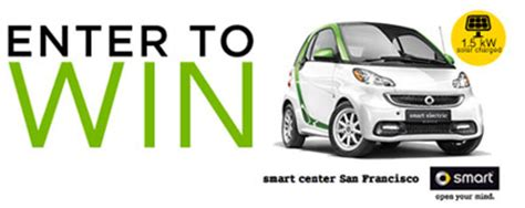 Smart Car Giveaway - smart electric car solar pv system sweepstakes enter to win