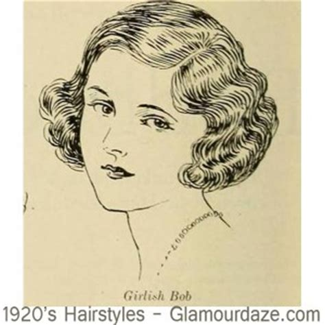 drawing of shingle haircut style 1920s hairstyles 12 classic bob cuts glamourdaze