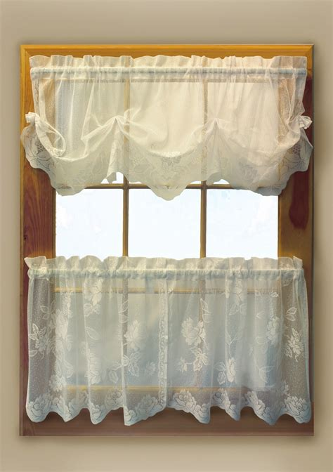 lace tier curtains leeanne lace tier curtains