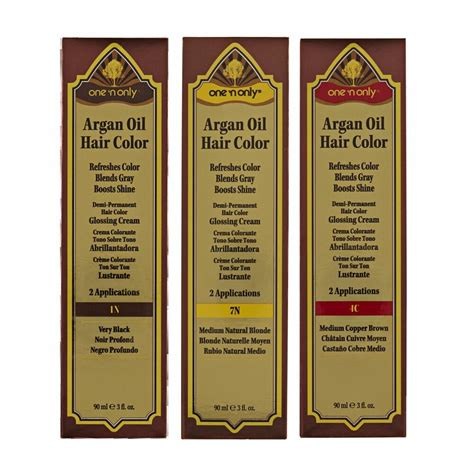 one n only argan hair color one n only argan hair color demi permanent glossing