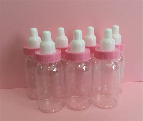Baby Shower Bottles by 12 Plastic Bottle Favors Baby Shower Favors 4 1 4