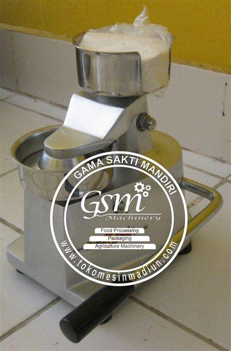 Mesin Untuk Mencetak Hamburger Manual Alat Pembuat Hamburger mesin cetak daging burger toko mesin madiun