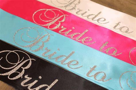 Bridal Shower Sash Selempang to be sash future mrs bachelorette sash bridal shower sash customized