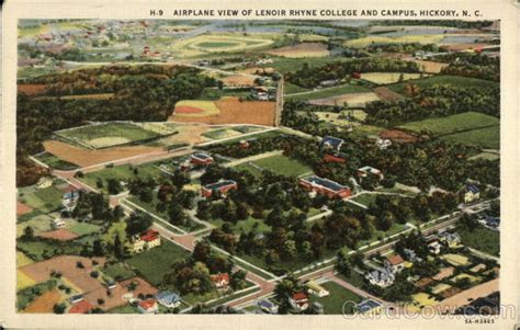 Lenoir Rhyne Mba Asheville by Airplane View Of Lenoir Rhyne College And Cus Hickory Nc