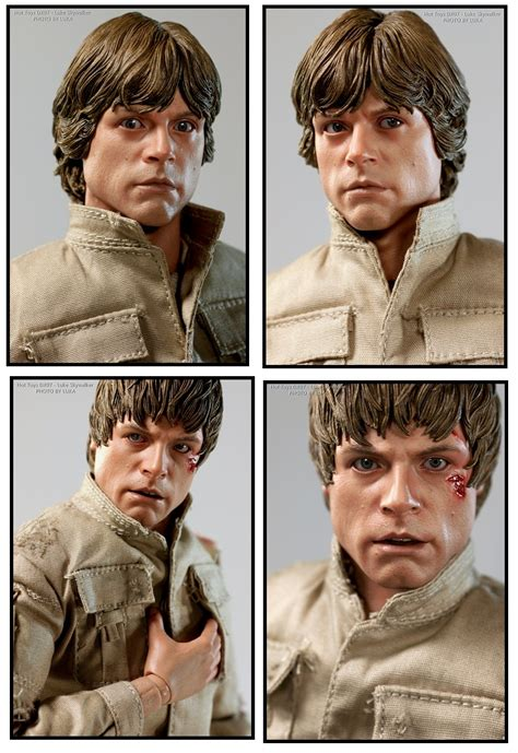 Toys Dx07 Wars Luke Skywalker Battle Damaged Sculpt 1 review review toys dx07 wars luke skywalker bespin