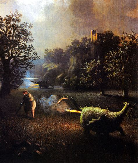 C O Painting by The Nibelungs There Goes Another Legend Michael Sowa