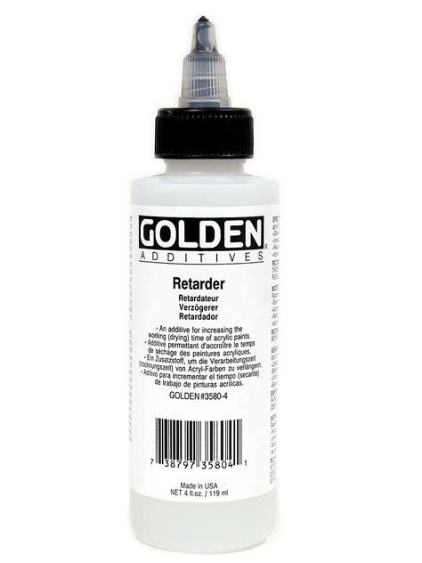 acrylic paint retarder golden acrylic retarder misterart