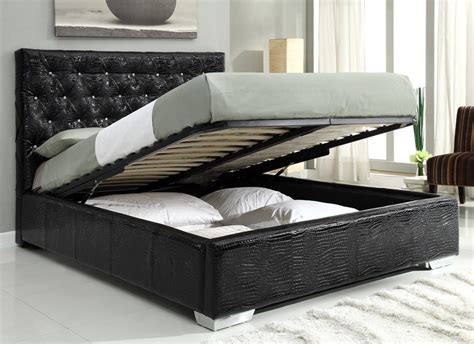 black queen size bed furniplanet com buy michelle black queen size bed at