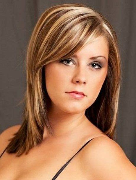 highlights of hairstyles light brown hair with blonde highlights medium length