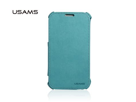 Usams Merly Series Soft Blue For Iphone 7 4 7 usams samsung n7100 galaxy note ii flip stand cover