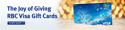 Visa Gift Card Denominations Canada - holiday gift giving made easy rbc royal bank