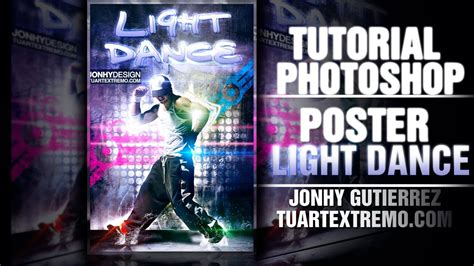 tutorial dance one more night tutorial photoshop poster light dance youtube