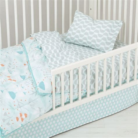 Land Of Nod Toddler Bedding by Well Nested Toddler Bedding Blue The Land Of Nod