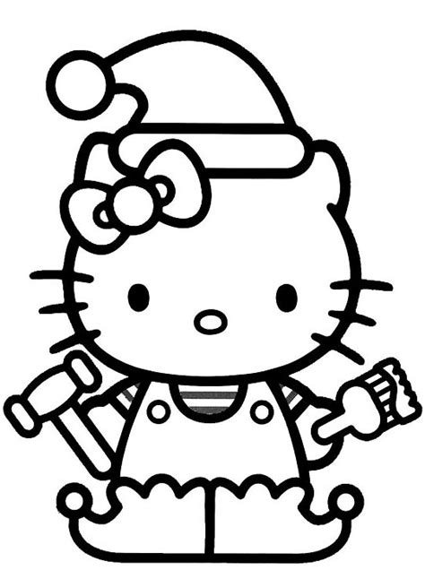 Color Pages Hello Kitty Clipart Best Free Printable Hello Coloring Pages