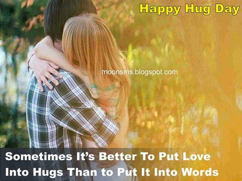 hug day quotes christian post moonsms happy hug day sms text message