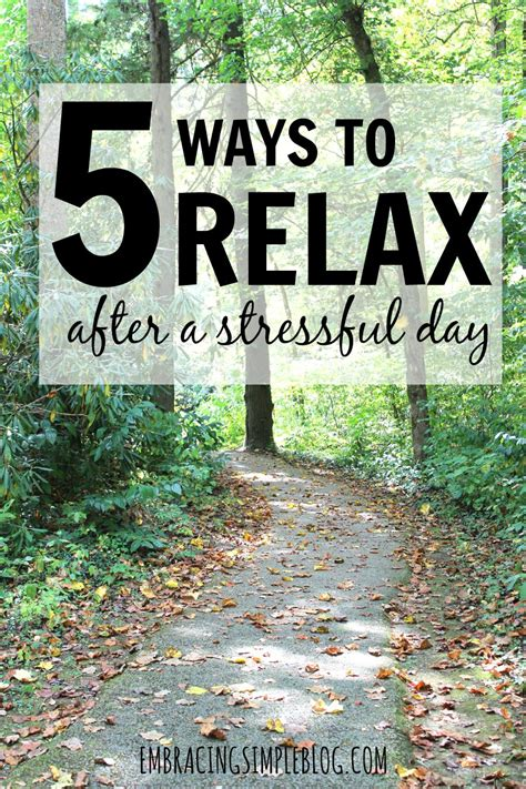 A Day Of Relaxation Thanks To Dorit by 5 Ways To Relax After A Stressful Day Embracing Simple