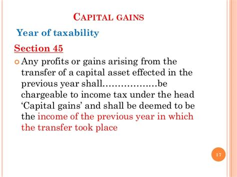 Section 2 47 Of Income Tax Act by Taxation In Redevelopment Of Property