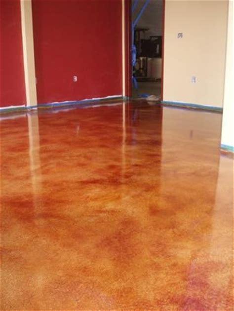 glazed concrete floor concrete glaze melanie