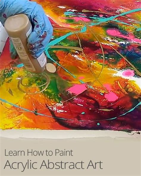 learn to paint acrylic on canvas 17 best images about on abstract