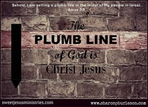 Plumb Line Ministries by A Holy Plumb Line Sweet Jesus Ministries